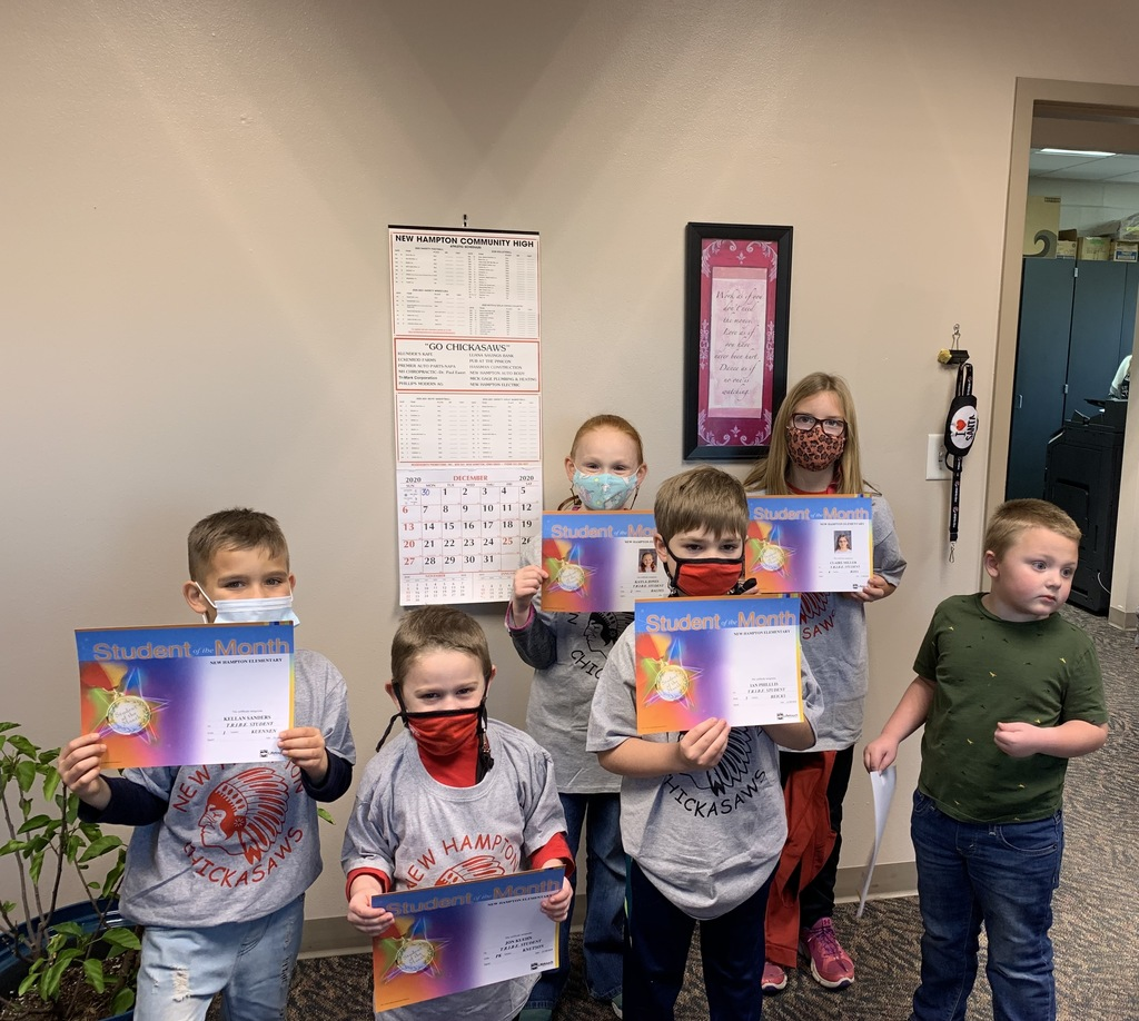 November TRIBE students of the month