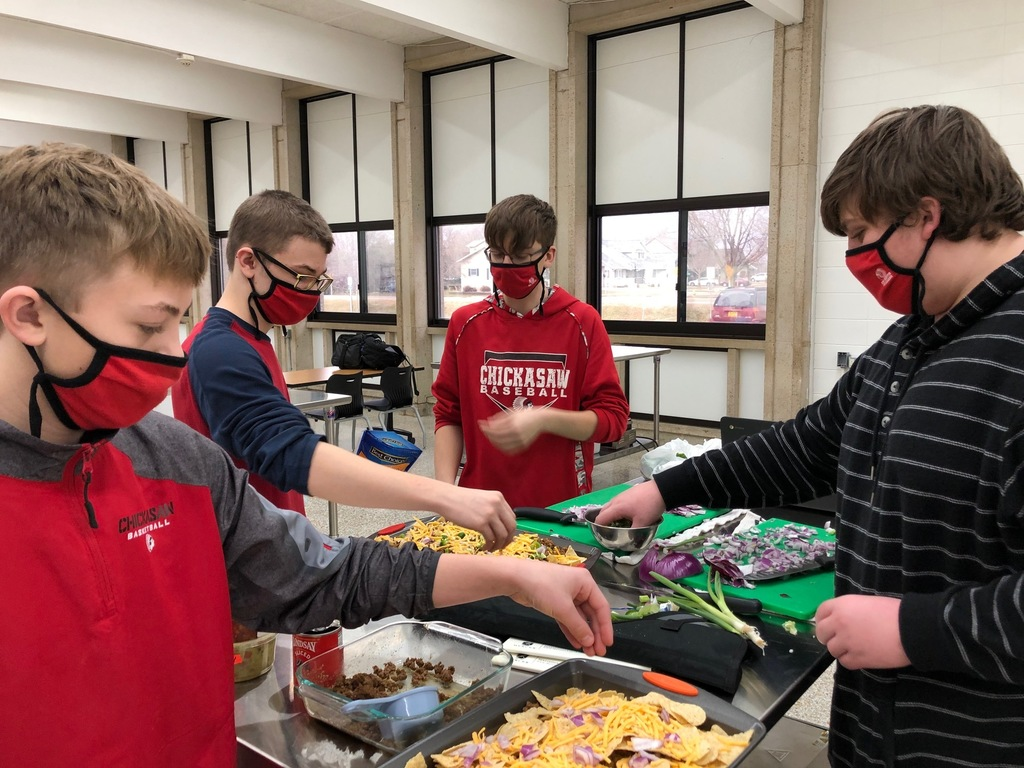 Here are pictures from Mrs. Schmitt's Foods One students doing a Protein Lab. It was very successful and just in time before our large nutrition test! Some of the groups made nachos, pizza, meatball subs, little smokies, and more!