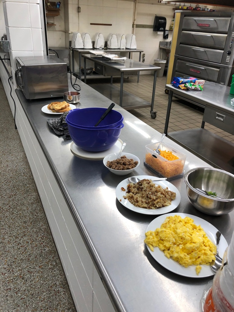 Food 1  class made breakfast