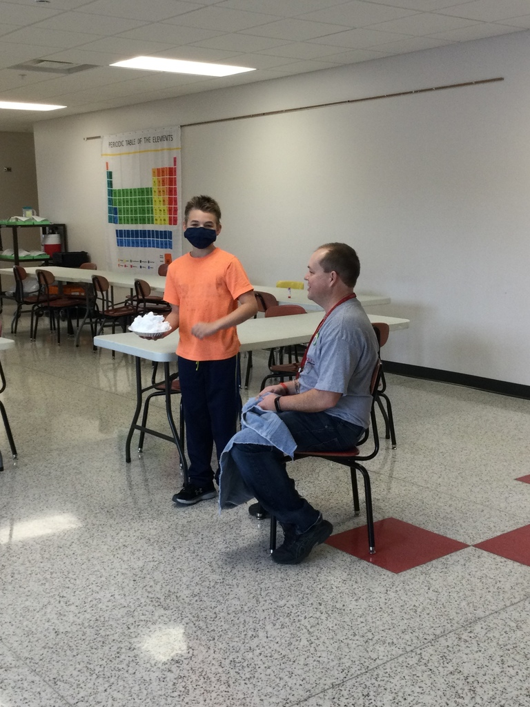 The 5th-8th grade ELP students celebrated their participation in the Hour of Code which included a chance to be in a drawing to pie Mr. Monteith for those who completed the quest sponsored by @UnrulyStudios. With their participation, they also won the Grand Prize Raffle and received 12 Splats for the school district to use!