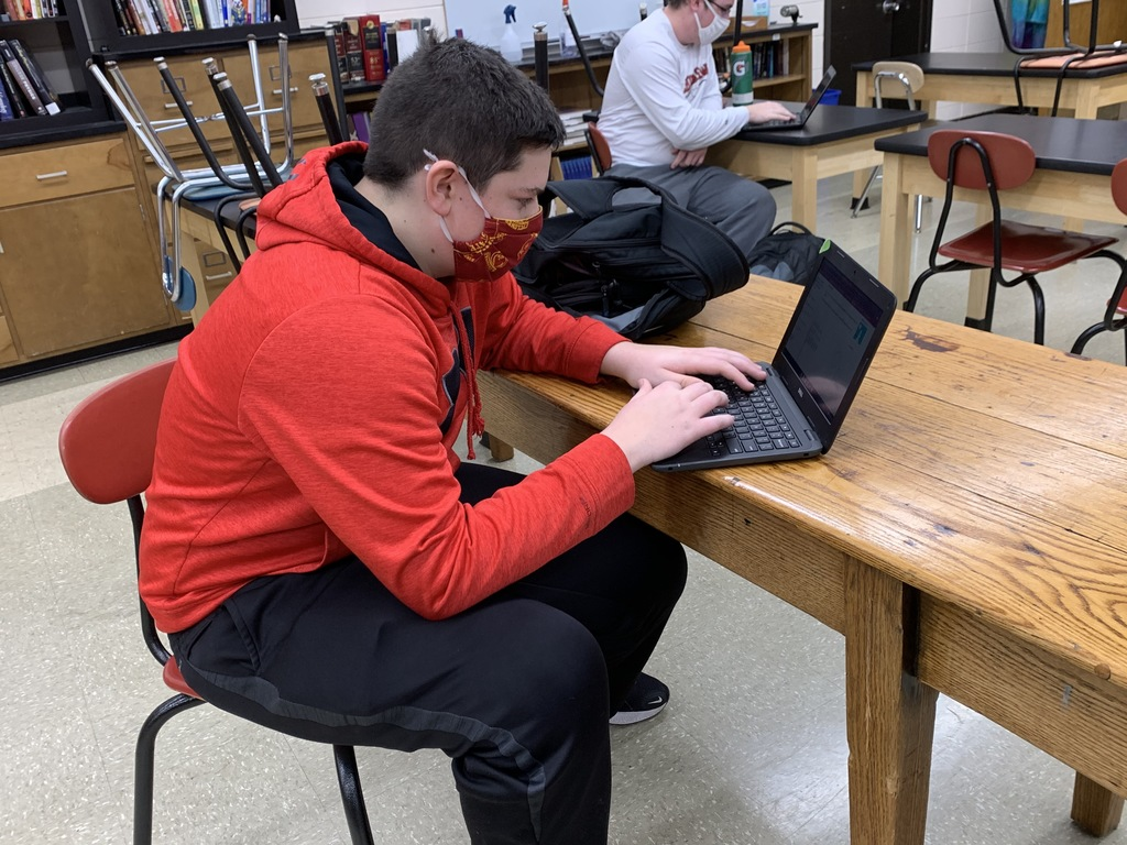 Chad Pemble's Computer Science students use Khan Academy to design websites.  Students learn skills to lead into future careers.