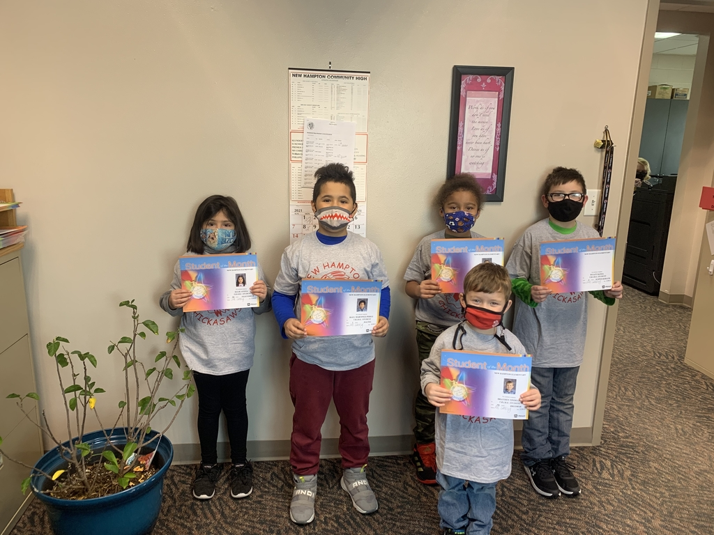 January TRIBE students of the month!