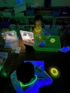 Demaray's Kindergartners celebrated their hard work with a GLOW PARTY!