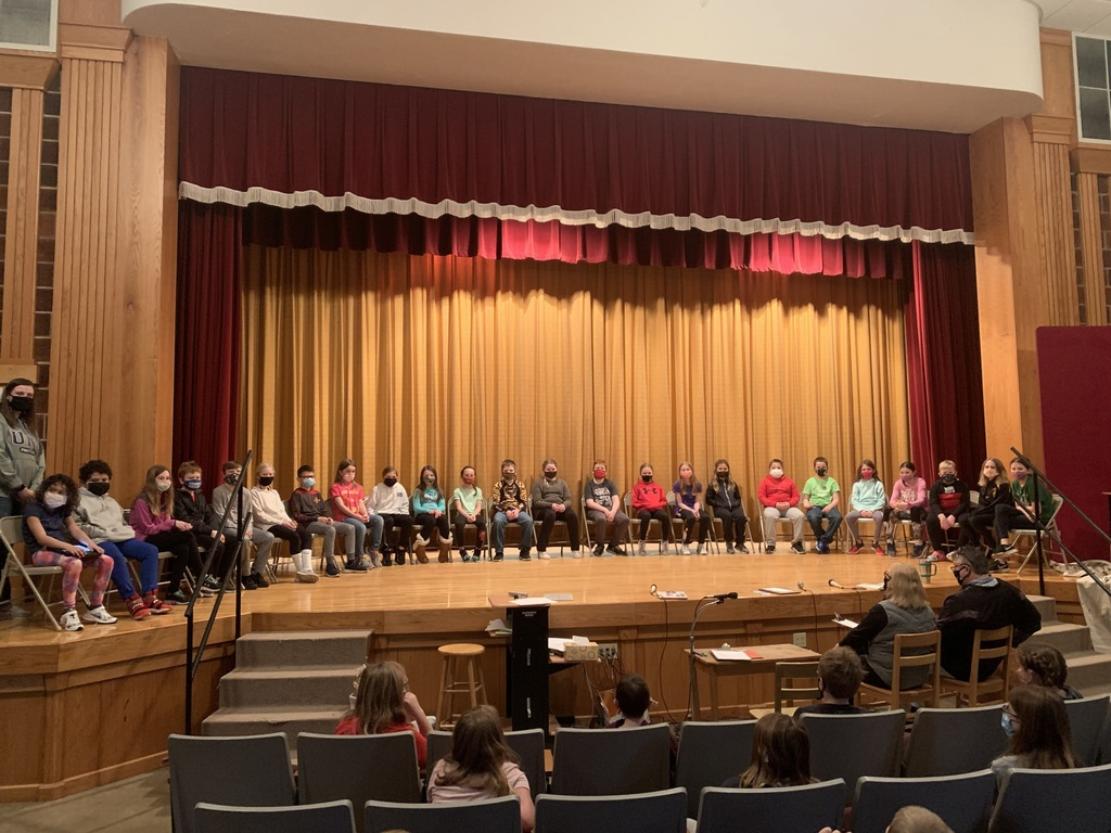 4th grade students participated in the Geography Bee today. While it is routine for us to hold our own bee, there is also a district-wide Geography Bee grades 4-8 and a national level Geography Bee, both canceled due to COVID-19 restrictions. However, all 4th-grade students took a preliminary test and 24 4th graders qualified for the 4th-grade Geography Bee on February 24. Tristen Babcock, from Mr. Pagel's homeroom, is the 20-21 4th grade Geography Bee Champion  24 Contests (in picture order): Elaisha Floden, Ayden McIntyre, Charlie Geerts, Wyatt Swehla, Bryson Balk, Kallie Hackman, Cade Orr, Lexie Cordes, Marley Schwickerath, Lexi O'Brien, Abby Kuhn, Tristen Babcock, Eleanor Fisher, Jakob Schwickerath, Elsie Kuhehner, Myla Moorman, Brynlie Anderson, Kinnick McGrath, Landon Rude, Emma Praska, Jersey Roethler, Dawson Monteith, Carlee Steinlage, and Brynlie Ackerson  Top 10 (in picture order): Landon Rude, Emma Praska, Bryson Balk, Kallie Hackman, Jakob Schwickerath, Myla Moorman, Lexie Cordes, Tristen Babcock, Carlee Steinlage, Brynlie Ackerson   Top 2 Finalists: Kallie Hackman, Tristen Babcock  20-21 Champion: Tristen Babcock