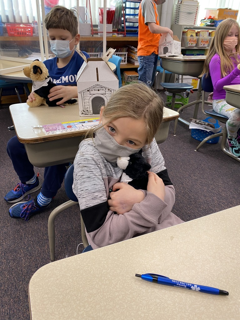 2nd graders were given a stuffed animal to help learn about empathy, respect, and responsibility. They especially liked that they got to keep their stuffed animal.  Thank you to Theisen's for sponsoring this fun unit!
