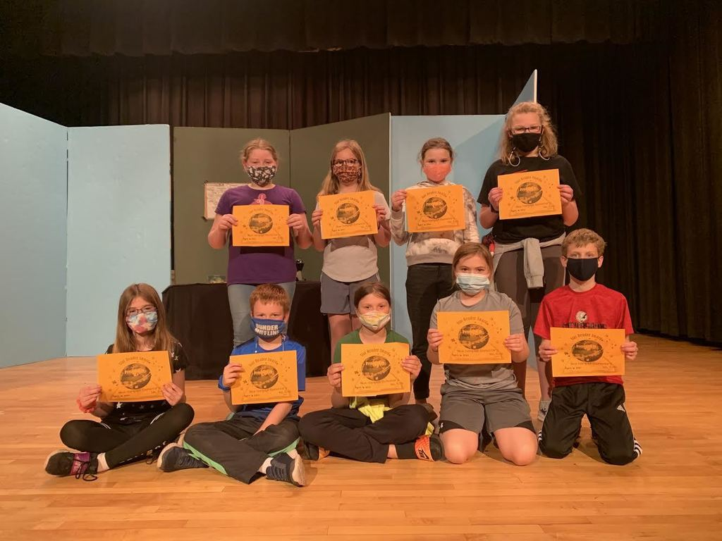 4th graders had their 3rd Quarter awards recognition today April 6th. Awards include: Reading, Language Arts,  Social Sciences, Science, Math, BUG (Brought Up Grades), Honor Roll, and TRIBE! Way to go 4th graders! Oo