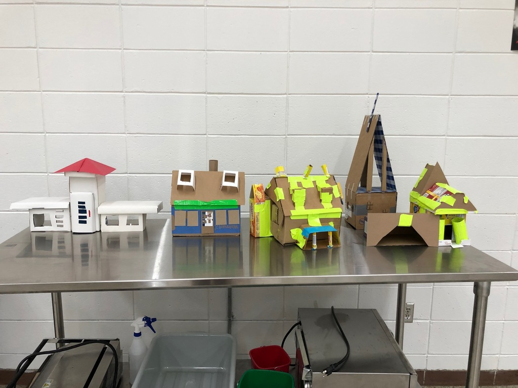 Finished products of Housing & Interior Design Class on Exterior homes.