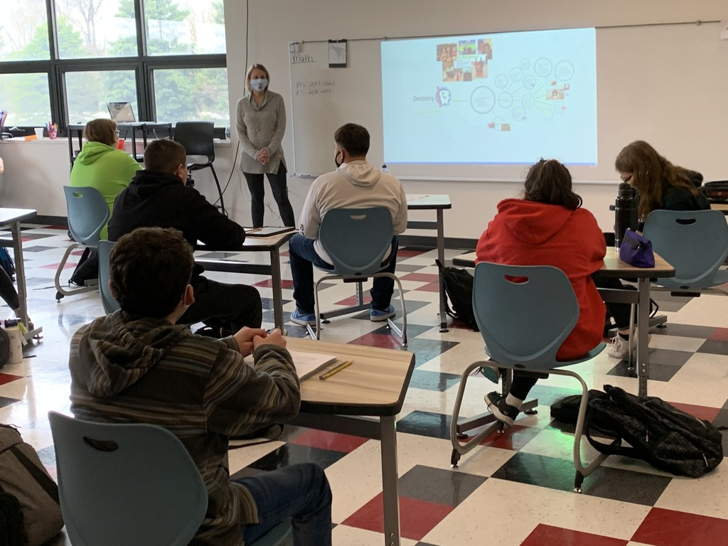 Today marked the beginning of Career Week for 8th graders at NHMS and St. Joe's! Students will have the opportunity to learn about different careers in the area, interview skills, resume building skills, and will get to virtually tour a few local businesses. We are so thankful for the many individuals and businesses that have volunteered to be part of the week!