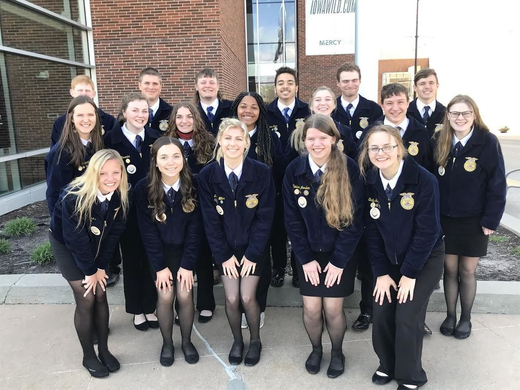 This group of FFA members was very excited to be able to attend the Conference in person even if it meant wearing a mask.  There were some difference from two years ago, but it was great to see and talk to FFA friends in person while getting new ideas for the New Hampton FFA Chapter.