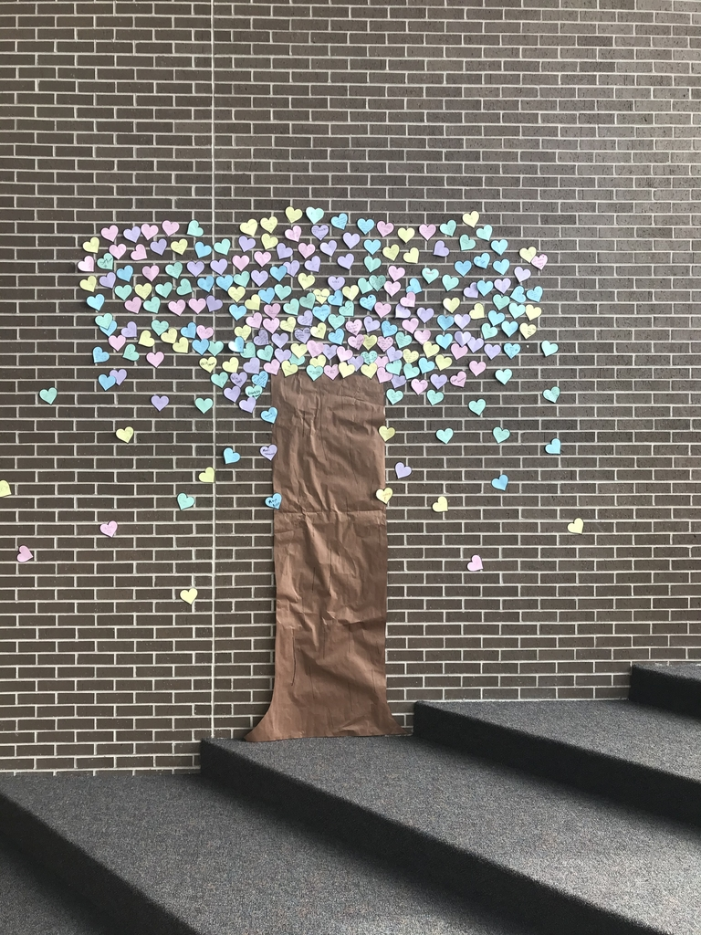 Middle School Kindness Tree