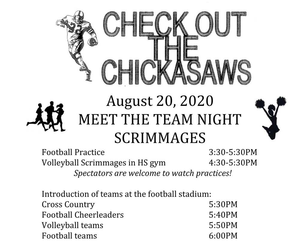Meet the Fall Sport teams night